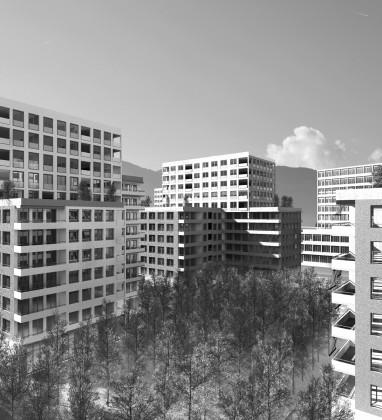 saas architectes genève - Opérations les Vernets